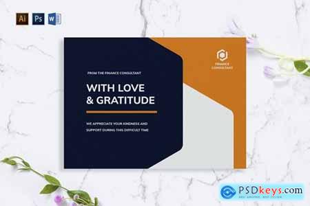Finance Consultant Greeting Card