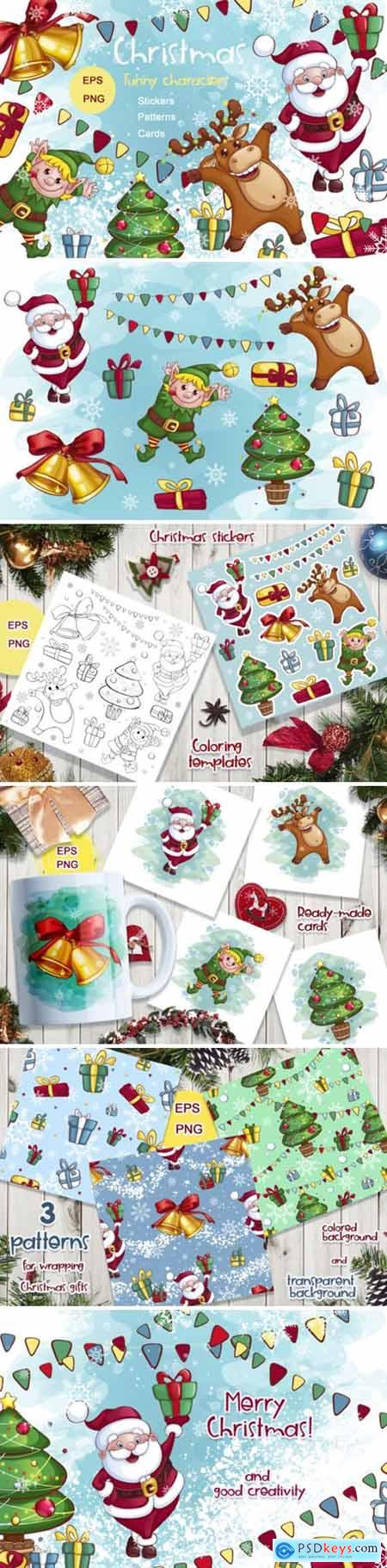 Christmas! Characters, Stickers, Cards 5615774