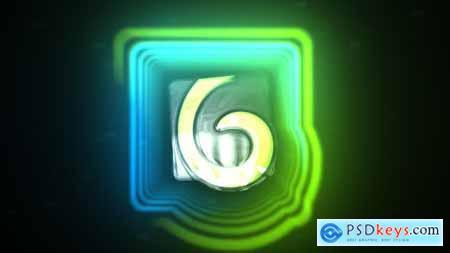 Digital Glitch Logo Reveal 24510187