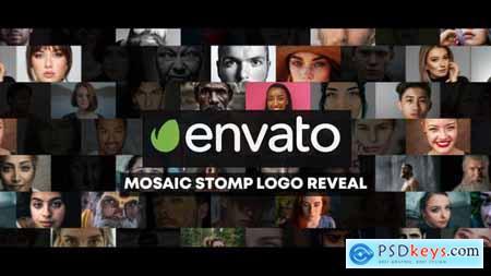 Mosaic Stomp Photo Logo Reveal 27800973