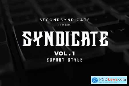 Syndicate Font Vol. 1