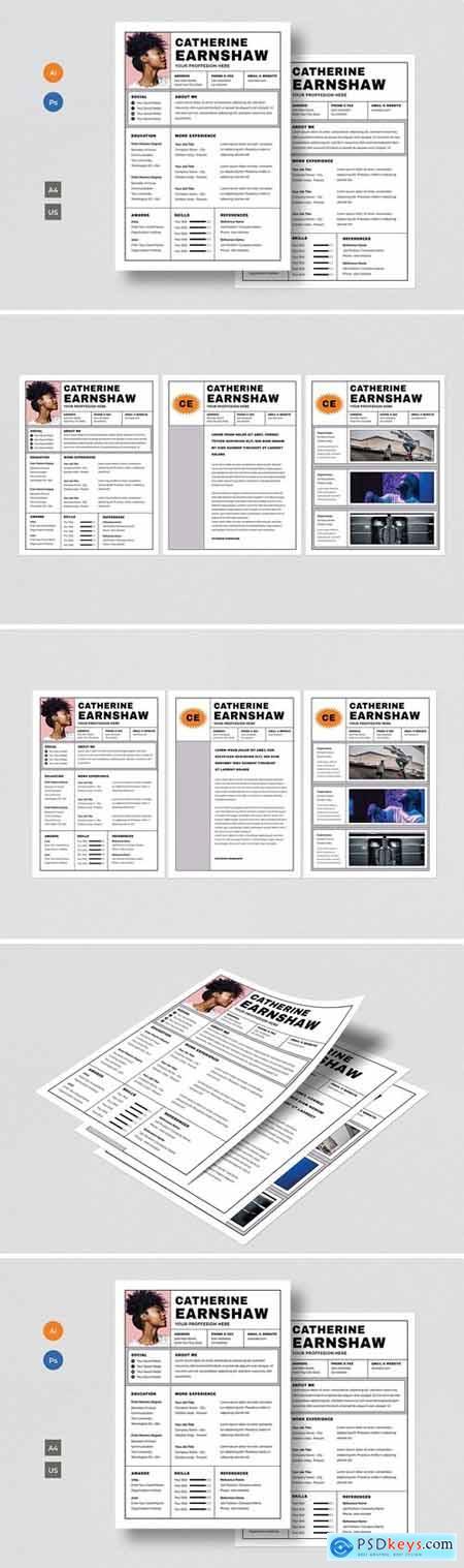 Resume & CV Template
