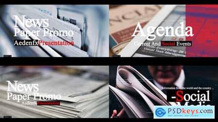 News Paper Promo 24809943
