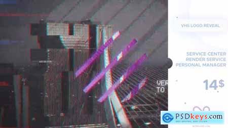 VHS Logo Reveal 20941379