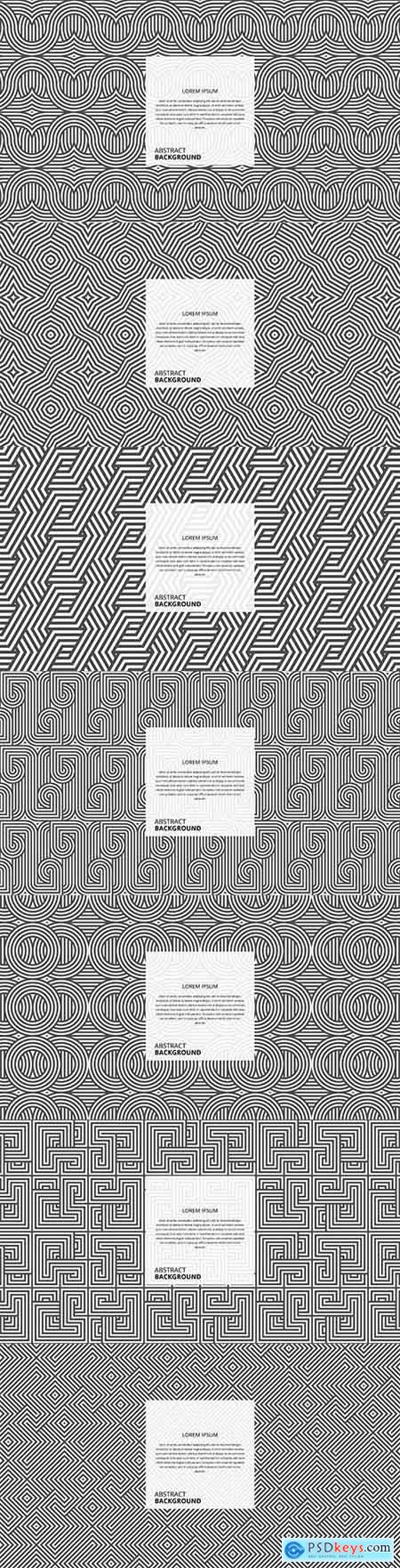 Abstract geometric diagonal square line pattern