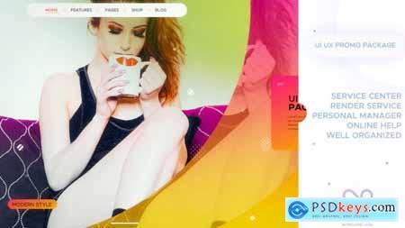 UI UX Promo Package 21362838