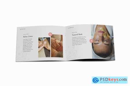 Beauty Spa & Skin Care A5 Brochure Template