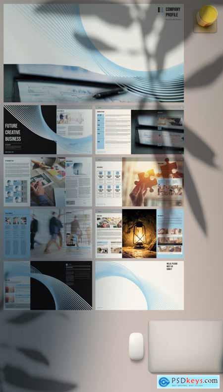 Company Profile Presentation 380453642