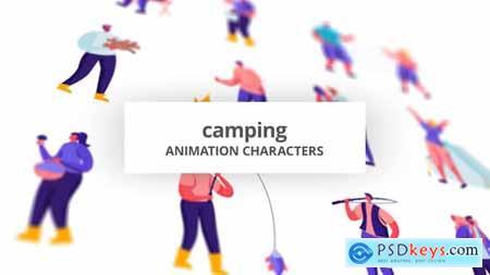 Camping - Character Set 28672337