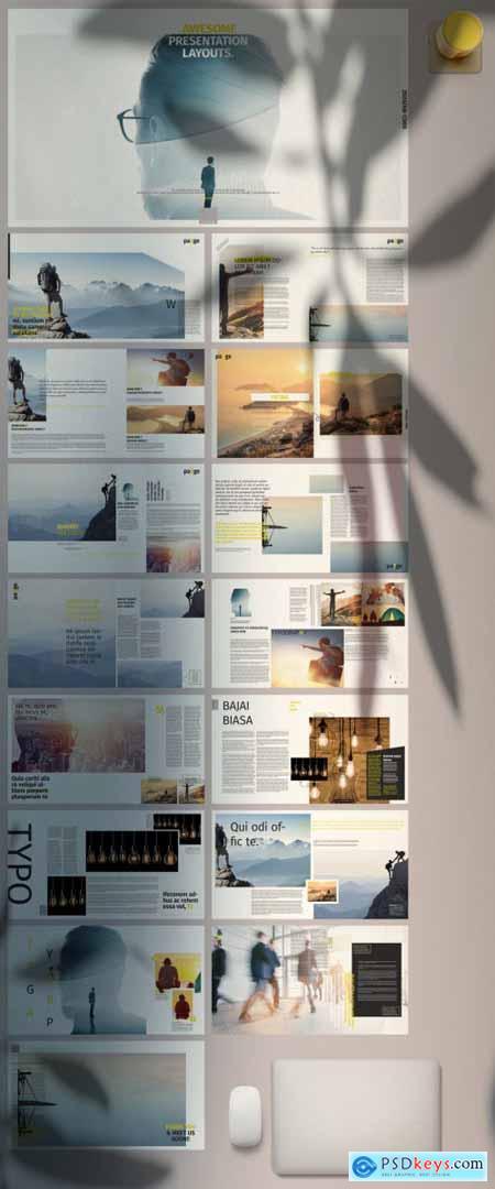 Yellow Portfolio Presentation 380453673