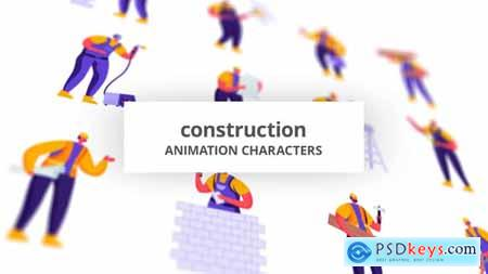 Construction - Character Set 28672345
