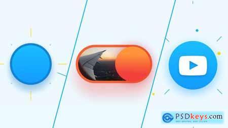 Quick Flat Logo Reveal 23376805