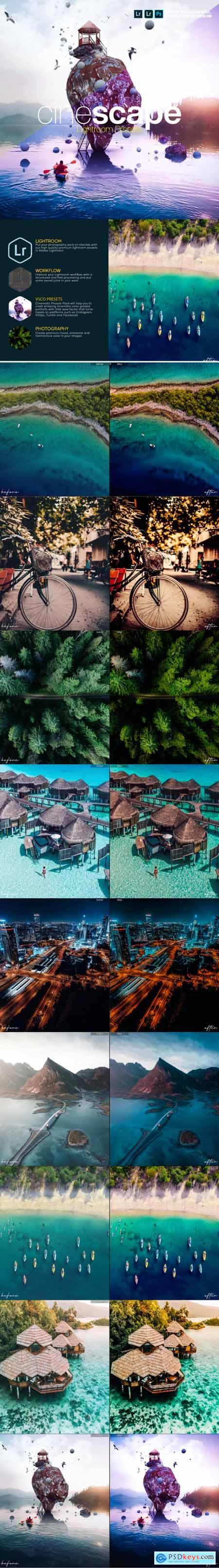 Cinematic Landscape Travel Lightroom Presets 28519672