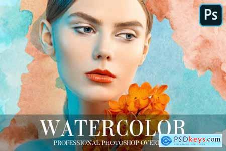 Watercolor Overlays Photoshop 4948745