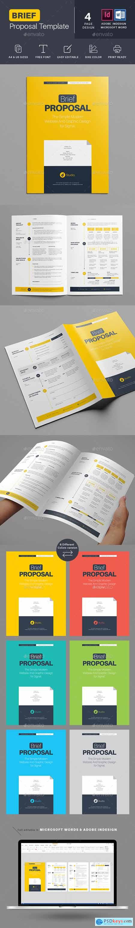 Brief Proposal Templates 27514353