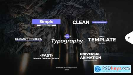 Simple and Minimal Titles Pack 28508943