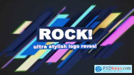 80s Ultra Stylish Electro Logo Reveal 4950290