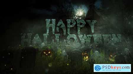 Halloween Logo Reveal 9236373