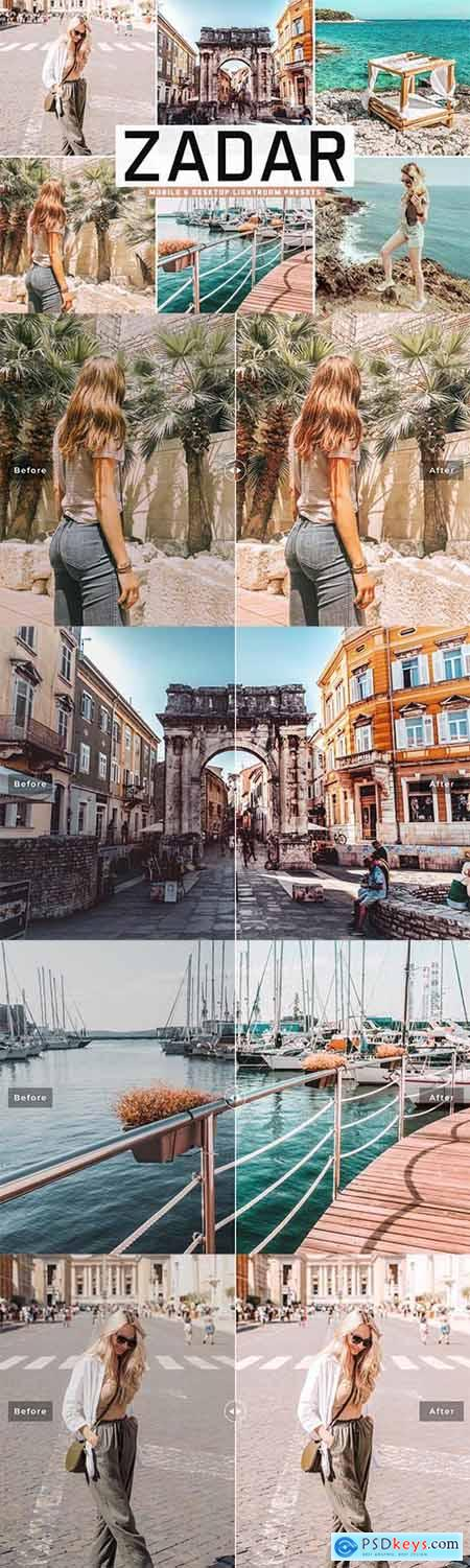 Zadar Mobile & Desktop Lightroom Presets