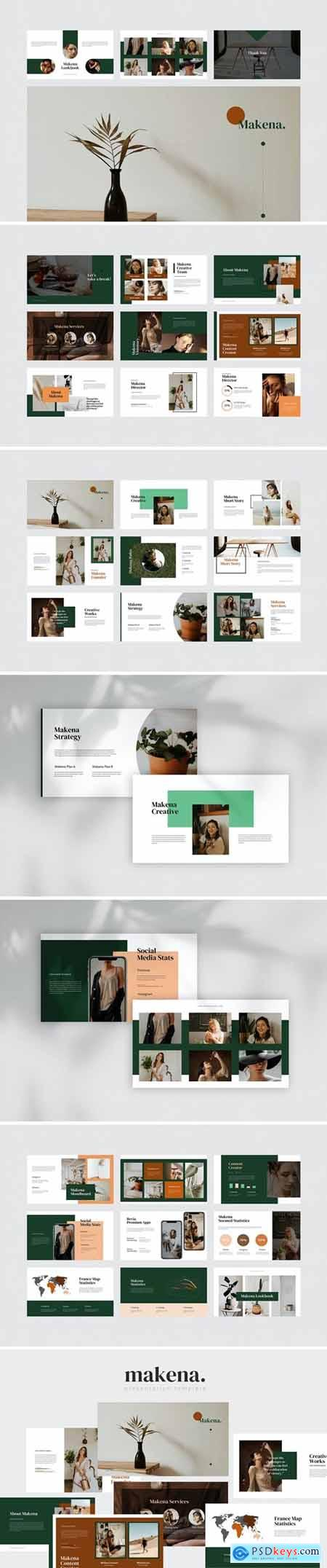 Makena - Creative Powerpoint Template
