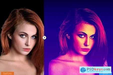 Lasso Painting Photoshop Action 5444739