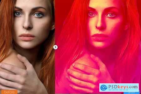 Elegant Painting Photoshop Action 5444728