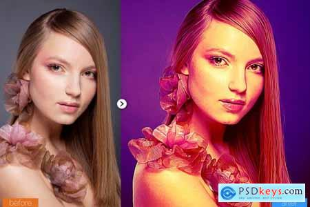 Colorful Painting Photoshop Action 5444759