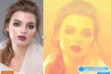 Color Painting Art Photoshop Action 5444732