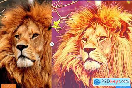 Painting Photoshop Action V7 5444522