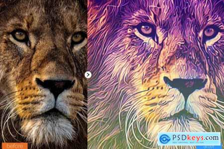Painting Photoshop Action V6 5439244