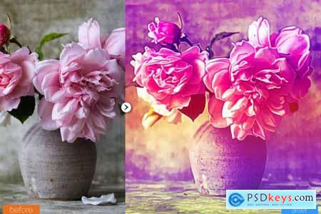 Mixed Painting Photoshop Action 5444624