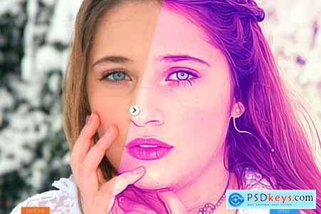 Painting Photoshop Action V5 5439078