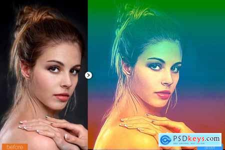 Super Painting Photoshop Action 5444625