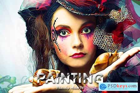 Painting Photoshop Action V4 5438359