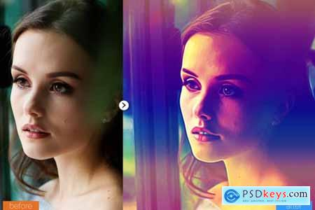 MultiColor Painting Photoshop Action 5444683