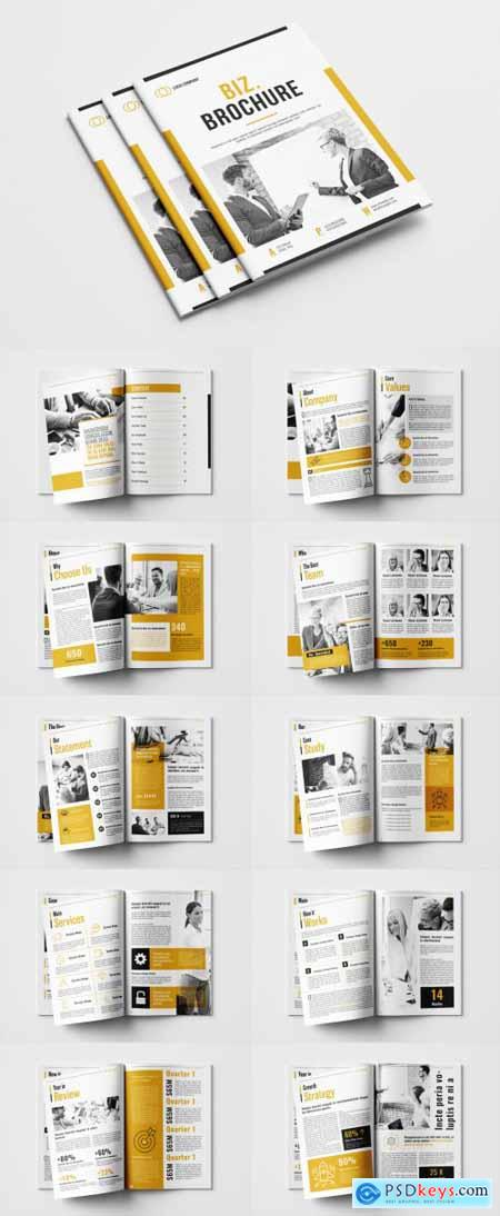 Business Brochure Layout 381947666