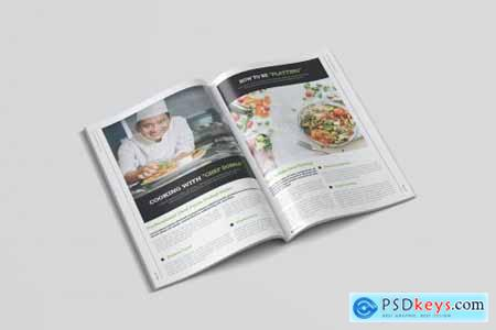 Fast Food Magazine Template