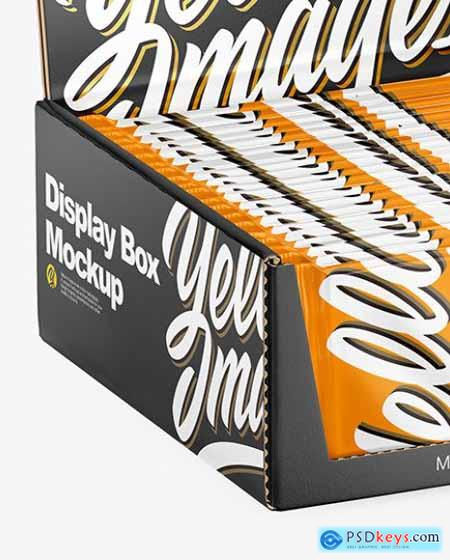 Display Box & Snack Bars Mockup 67782