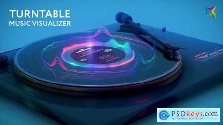 Turntable Music Visualizer 28772033