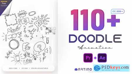 110 Animated Doodles Pack 28732986