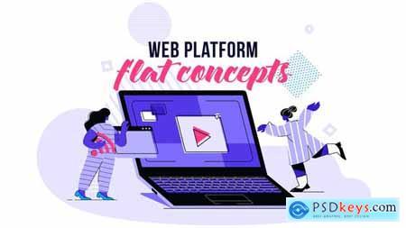 Web platform - Flat Concept 28730472