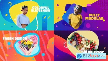 Smooth Colorful Slideshow - After Effects 28740921