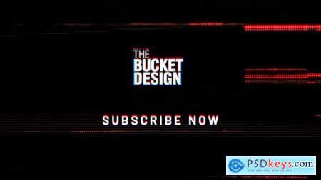 YouTube Glitch Logo Reveal 28782631
