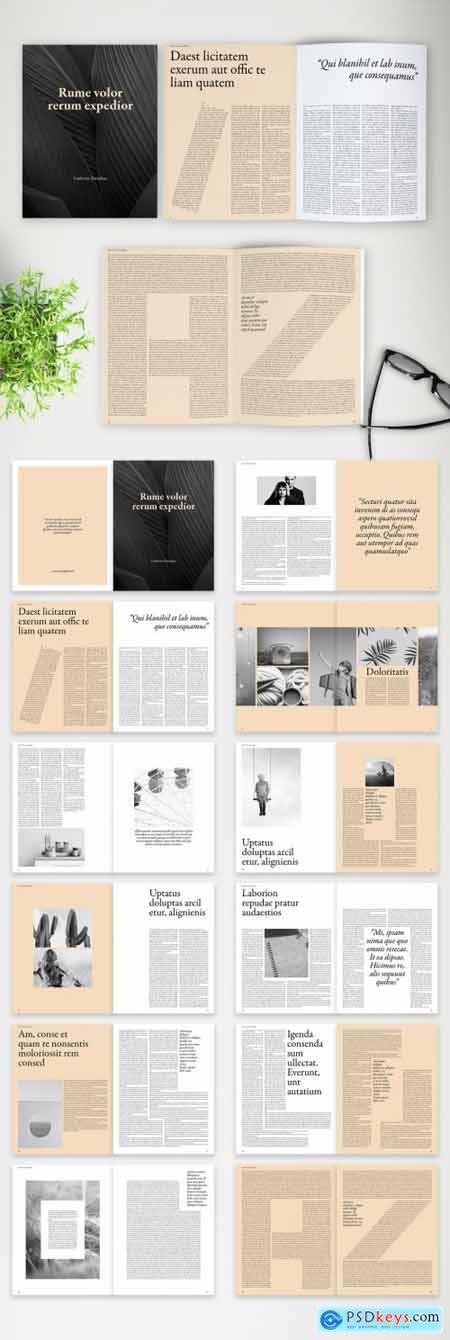 Modern Book Layout 381941349
