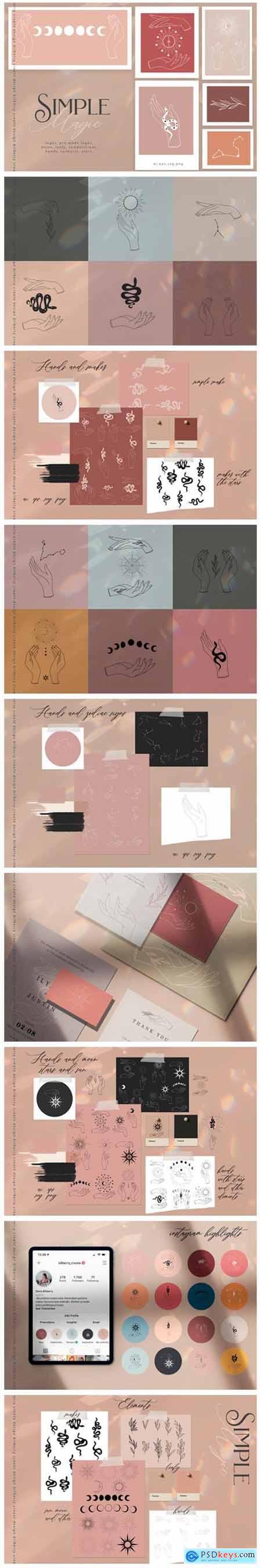 Simple Magic Art Set 5750831