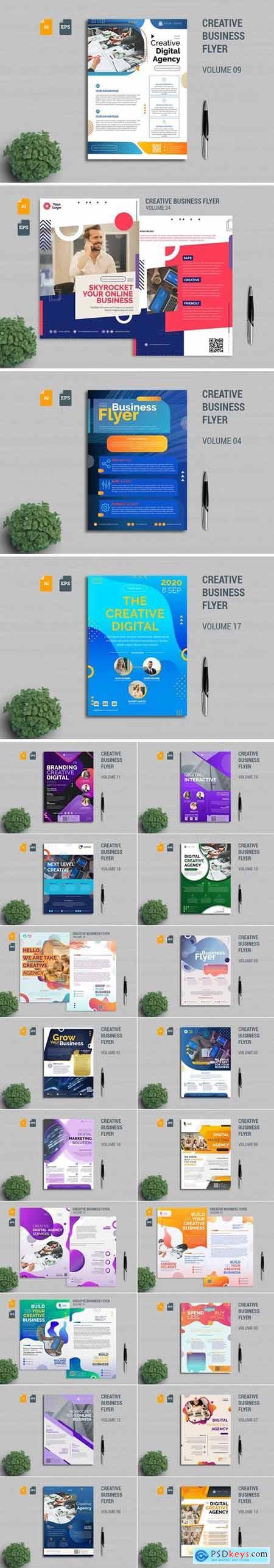 Creative Business Flyer Template Bundle