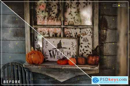 10 Halloween presets & Horror Lightroom presets