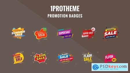 Badges Sale Promo V18 28837379
