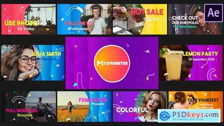 Colorful Slideshow - After Effects 28828314