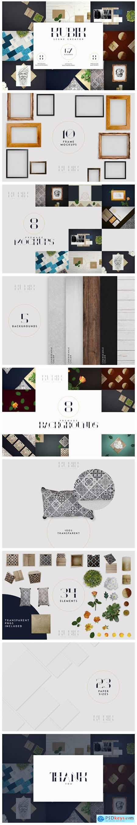 Kubik Scene Creator - 67 Elements 5825685